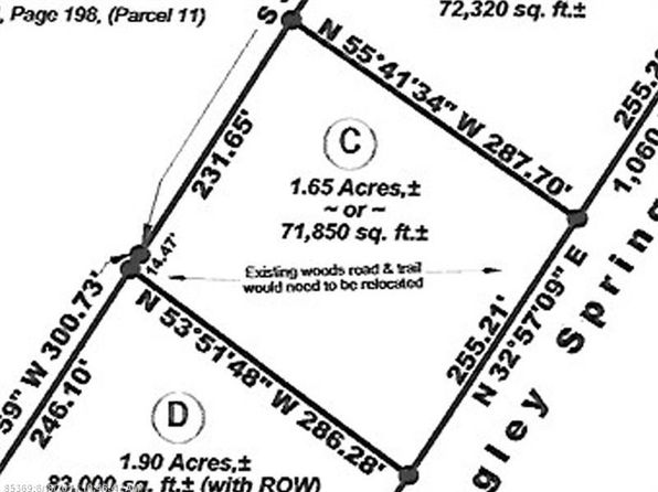null bed null bath Vacant Land at 00 Dingley Spg Gorham, ME, 04038 is for sale at 85k - google static map