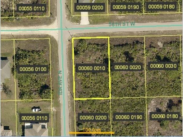 null bed null bath Vacant Land at 2719 56th St W Lehigh Acres, FL, 33971 is for sale at 6k - google static map