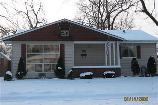 3 bed 1 bath Single Family at 338 N ARBOGAST ST GRIFFITH, IN, 46319 is for sale at 118k - google static map