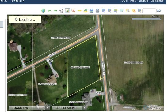 null bed null bath Vacant Land at  Johnnycake Rd Rootstown, OH, 44272 is for sale at 40k - google static map