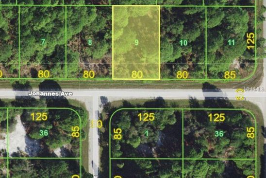 null bed null bath Vacant Land at 12596 Johannes Ave Port Charlotte, FL, 33953 is for sale at 7k - google static map