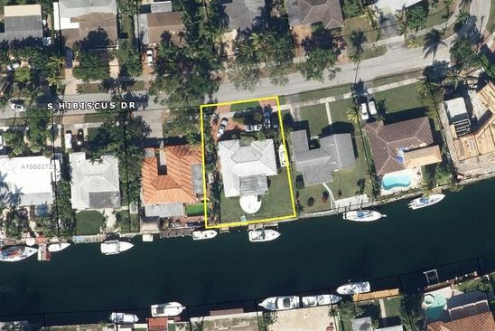 3 bed 2 bath Single Family at 2050 S Hibiscus Dr North Miami, FL, 33181 is for sale at 980k - google static map