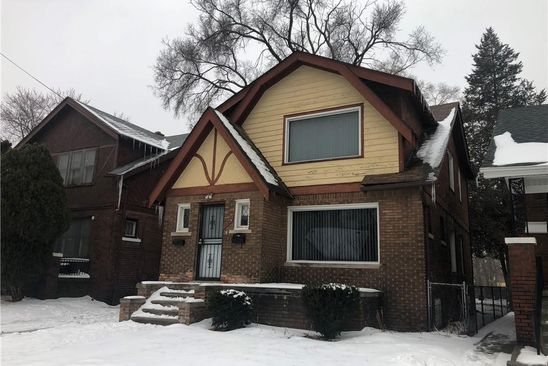 null bed 2 bath Multi Family at 14845 Indiana St Detroit, MI, 48238 is for sale at 47k - google static map