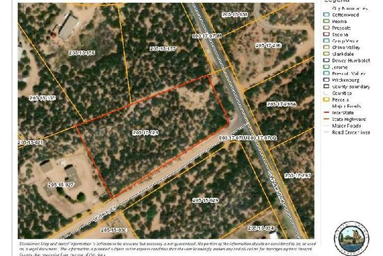 null bed null bath Vacant Land at 7560 W Derry Dr Wilhoit, AZ, 86332 is for sale at 32k - google static map