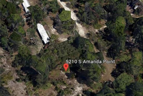 null bed null bath Vacant Land at 5210 S AMANDA PT HOMOSASSA, FL, 34446 is for sale at 18k - google static map