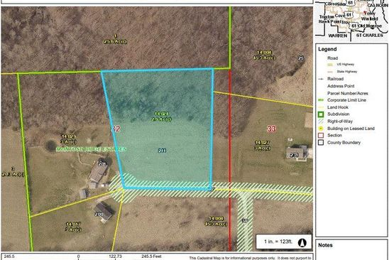 0 bed null bath Vacant Land at 211 Jenna Lee Dr Foley, MO, 63347 is for sale at 22k - google static map