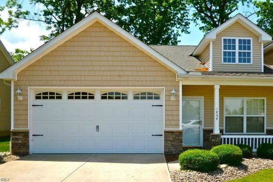 2 bed 2 bath Condo at 1454 Birdie Ln Wickliffe, OH, 44092 is for sale at 125k - google static map