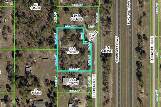 null bed null bath Vacant Land at 0 Fieldcrest Ln Brooksville, FL, 34613 is for sale at 25k - google static map