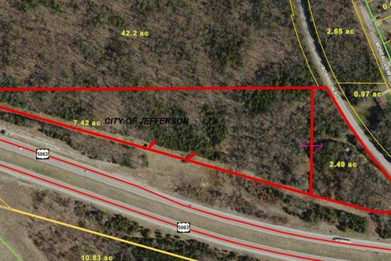 null bed null bath Vacant Land at  Tbd Highway 50 E Jefferson City, MO, 65101 is for sale at 100k - google static map