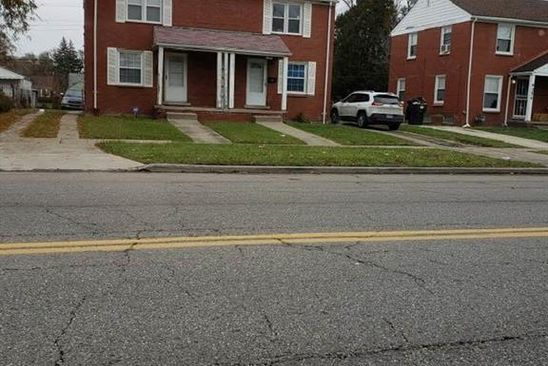 2 bed 1 bath Single Family at 9066 EVERGREEN AVE DETROIT, MI, 48228 is for sale at 25k - google static map
