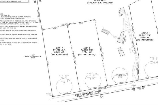 null bed null bath Vacant Land at 46 E Howland Rd East Freetown, MA, 02717 is for sale at 140k - google static map