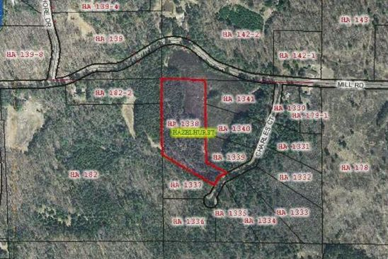 0 bed null bath Vacant Land at  Charles Ct Hazelhurst, WI, 54531 is for sale at 45k - google static map