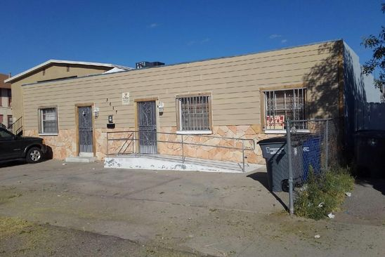 6 bed 2 bath Multi Family at 3617 Hueco Ave El Paso, TX, 79903 is for sale at 165k - google static map