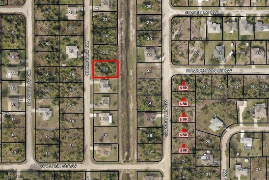null bed null bath Vacant Land at 2055 OLYMPIA AVE SW PALM BAY, FL, 32908 is for sale at 13k - google static map