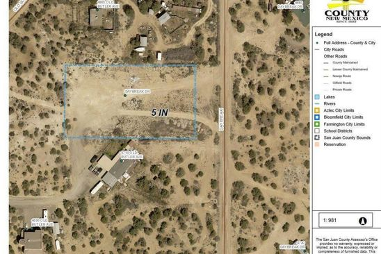 null bed null bath Vacant Land at  Daybreak Dr Farmington, NM, 87401 is for sale at 65k - google static map