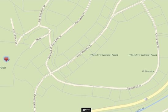 null bed null bath Vacant Land at  RUBY MOUNTAIN DR REDSTONE, CO, 81623 is for sale at 15k - google static map