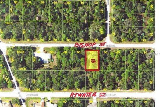 null bed null bath Vacant Land at 158 Bishop St Port Charlotte, FL, 33954 is for sale at 5k - google static map