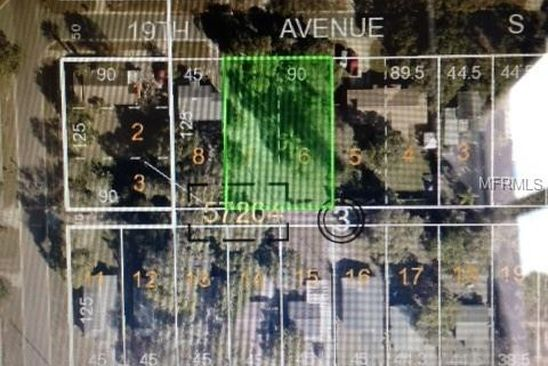 null bed null bath Vacant Land at 4550 19TH AVE S SAINT PETERSBURG, FL, 33711 is for sale at 45k - google static map