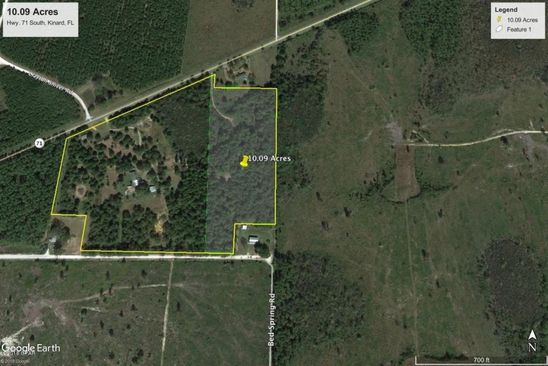 null bed null bath Vacant Land at 3841 State Road 71 S Kinard, FL, 32449 is for sale at 25k - google static map