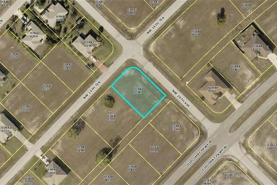 null bed null bath Vacant Land at 2100 NW 14TH TER CAPE CORAL, FL, 33993 is for sale at 11k - google static map