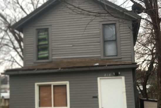 3 bed 1 bath Single Family at 218 MICHIGAN ST ELGIN, IL, 60120 is for sale at 110k - google static map