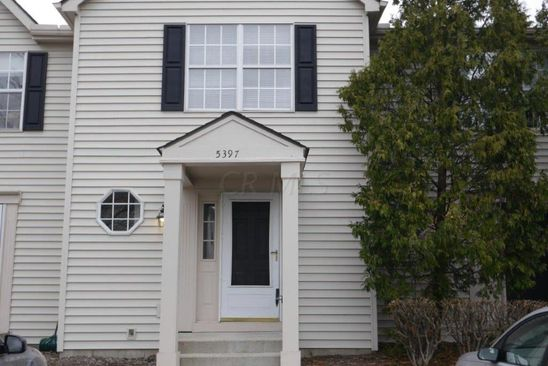 2 bed 2 bath Condo at 5397 Hostas Ln Columbus, OH, 43235 is for sale at 134k - google static map