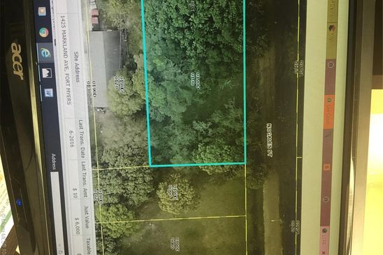 0 bed null bath Vacant Land at 1425 MARKLAND AVE FORT MYERS, FL, 33916 is for sale at 8k - google static map