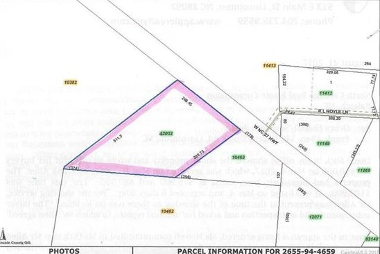 null bed null bath Vacant Land at 00 Nc Hwy 27 None W Vale, NC, 28168 is for sale at 17k - google static map