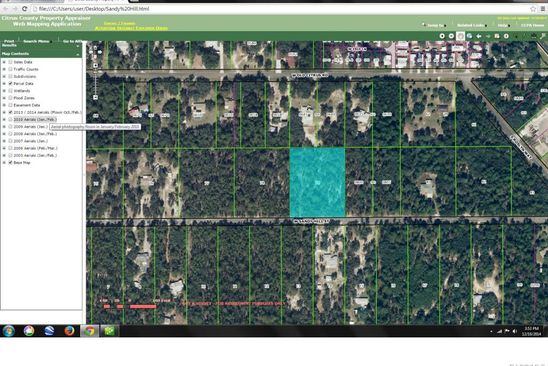 null bed null bath Vacant Land at 4582 W Sandy Hill St Lecanto, FL, 34461 is for sale at 65k - google static map