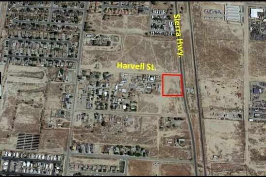 null bed null bath Vacant Land at  Swc Sierra Hwy. & Harvell St Rosamond, CA, 93560 is for sale at 69k - google static map