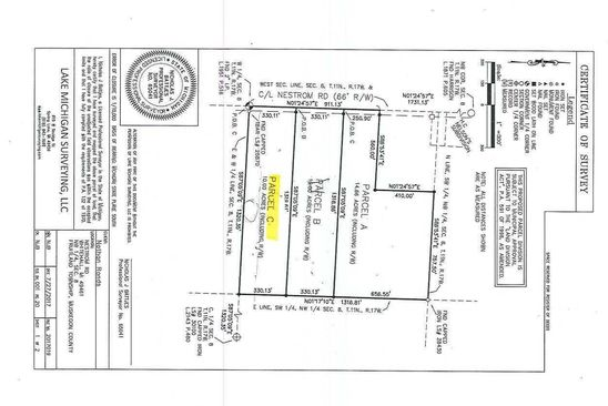 null bed null bath Vacant Land at 0 Nestrom Rd Whitehall, MI, 49461 is for sale at 45k - google static map