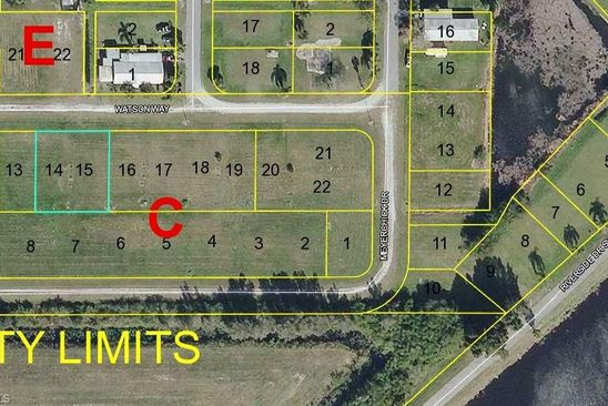null bed null bath Vacant Land at 983 WATSON WAY MOORE HAVEN, FL, 33471 is for sale at 12k - google static map