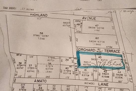 null bed null bath Vacant Land at 45 Plutarch Rd New Paltz, NY, 12528 is for sale at 175k - google static map