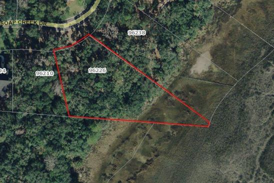 null bed null bath Vacant Land at 96266 Soap Creek Dr Fernandina Beach, FL, 32034 is for sale at 299k - google static map