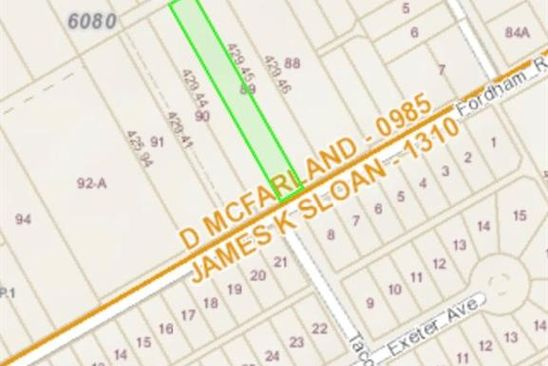 null bed null bath Vacant Land at 2811 Fordham Rd Dallas, TX, 75216 is for sale at 65k - google static map