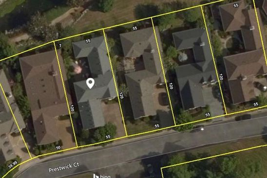 4 bed 6 bath Single Family at 412 PRESTWICK CT NASHVILLE, TN, 37205 is for sale at 975k - google static map