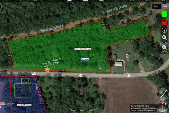null bed null bath Vacant Land at 6850-7014 Hwy 103 Port Barre, LA, 70577 is for sale at 78k - google static map
