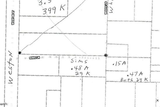 null bed null bath Vacant Land at  Sims Ln/ White Ln Pea Ridge, AR, 72751 is for sale at 29k - google static map