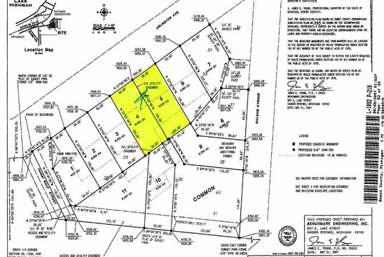 null bed null bath Vacant Land at 918 & 910 Arlington Ave Petoskey, MI, 49770 is for sale at 115k - google static map