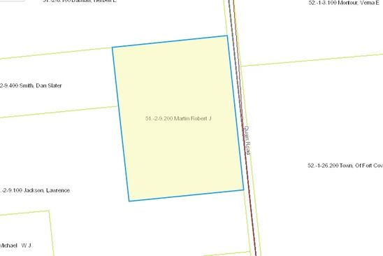 null bed null bath Vacant Land at  Quaine Rd Bombay, NY, 12914 is for sale at 15k - google static map