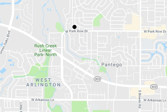 2 bed 3 bath Condo at 1401 FOREST EDGE DR ARLINGTON, TX, 76013 is for sale at 135k - google static map