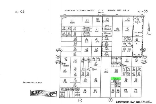 null bed null bath Vacant Land at 0 Prospect Rd Rosamond, CA, 93560 is for sale at 6k - google static map