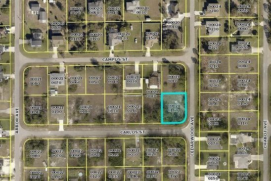 null bed null bath Vacant Land at 14121 Carlos St Fort Myers, FL, 33905 is for sale at 28k - google static map