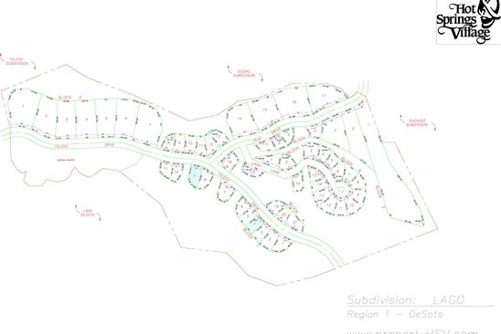 null bed null bath Vacant Land at  Toledo Dr Hot Springs Village, AR, 71909 is for sale at 1k - google static map