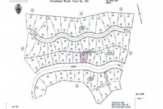 null bed null bath Vacant Land at 27664 N Bay Rd Lake Arrowhead, CA, 92352 is for sale at 55k - google static map