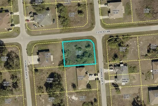 null bed null bath Vacant Land at 1100 Homer Ave S Lehigh Acres, FL, 33973 is for sale at 10k - google static map