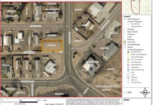 null bed null bath Vacant Land at 0000 Harrison Kingman, AZ, 86409 is for sale at 9k - google static map