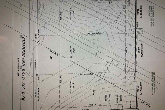 null bed null bath Vacant Land at 752 Cumberland Rd NE Atlanta, GA, 30306 is for sale at 350k - google static map