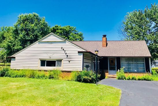 3 bed 1 bath Single Family at 24775 Chardon Rd Richmond Heights, OH, 44143 is for sale at 78k - google static map