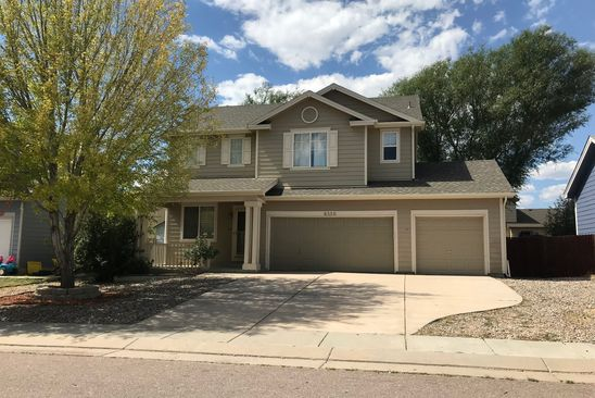 5 bed 4 bath Single Family at 8330 HURLEY DR FOUNTAIN, CO, 80817 is for sale at 295k - google static map